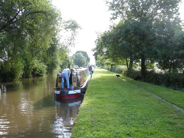 Ray on boat Shardlow