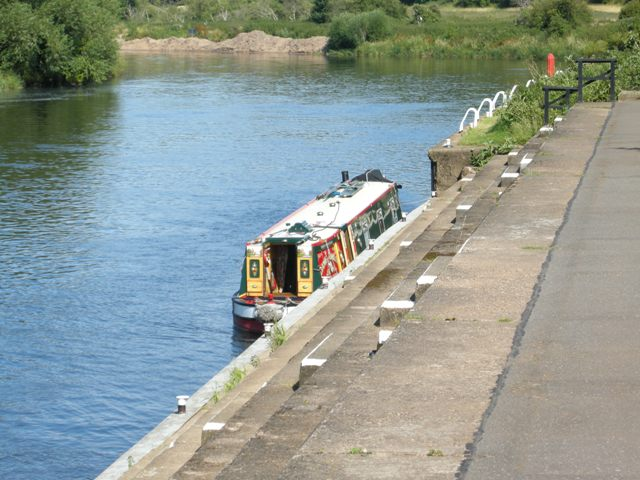 Mooring on Hazleford