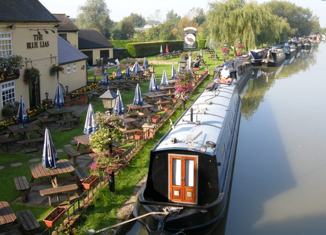 Blue Lias Pub and moorings