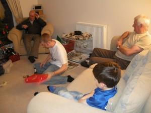 Ray, Chris, Paul and Josh