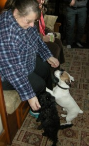 Vi with Patch and Eddie