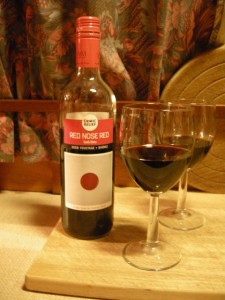 Red nose wine