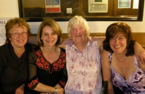 Pissed and happy - the Wooler girls