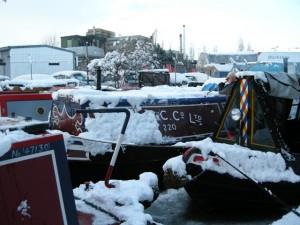 Snow on Atalanta