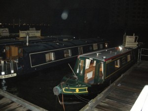 Narrow Boats at the Excel Centre 2010
